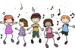 kids-dancing-illustration-of-along-to-music-101322